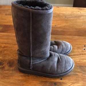 Ugg sheepskin tall boots
